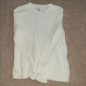 croft and barrow cream sweater